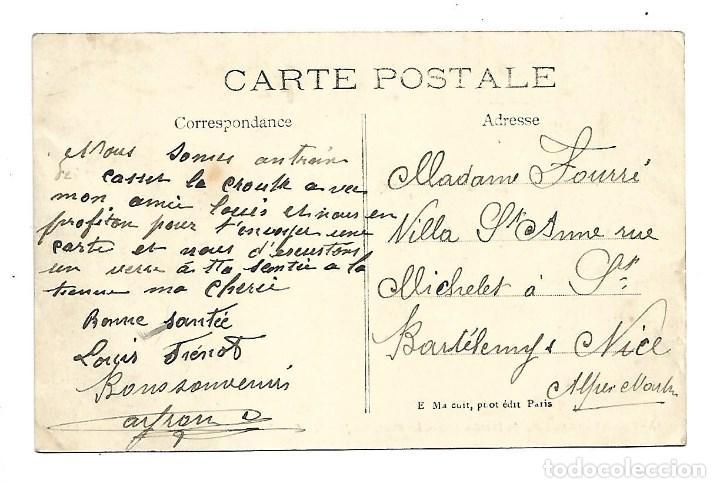 Fotografía antigua: 3501- PARIS.- INUNDACIONES 1910.-POSTAL ANTIGUA -LE PONT NEUF - DE 1910.CIRCU. - Foto 2 - 237749120