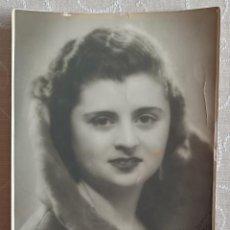 Fotografía antigua: FOTOGRAFÍA MUJER 1930. Lote 240239200