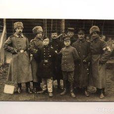 Fotografia antica: FOTOGRAFÍA. EJÉRCITO RUSO DURANTE LA 1A. GUERRA MUNDIAL. FOTOGRAFÍA GRUPAL (H.1910?). Lote 241458505