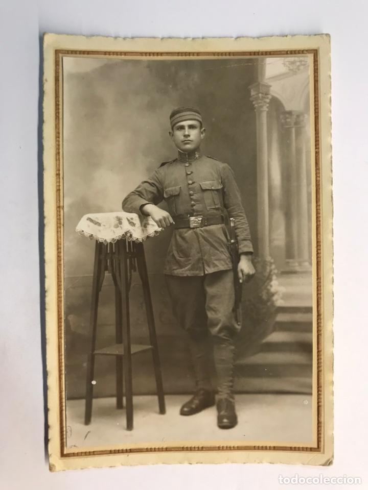 FOTOGRAFÍA ANTIGUA ARCILA (MARRUECOS) MILITAR ALFONSINO. GUERRA DE AFRICA (H.1910?) (Fotografía Antigua - Tarjeta Postal)