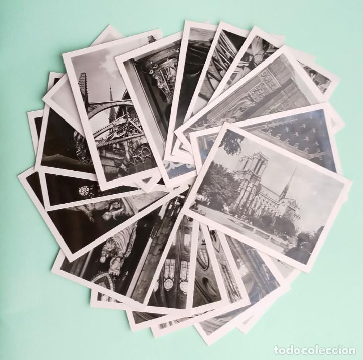 Fotografía antigua: COLECCION 20 FOTOGRAFIAS DE NOTRE-DAME DE PARIS, CIRCA AÑOS 50 - Foto 3 - 244434175