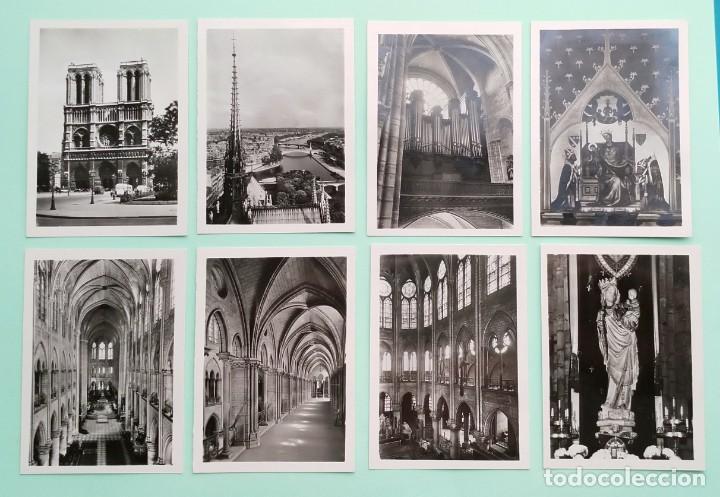 Fotografía antigua: COLECCION 20 FOTOGRAFIAS DE NOTRE-DAME DE PARIS, CIRCA AÑOS 50 - Foto 4 - 244434175
