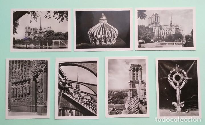 Fotografía antigua: COLECCION 20 FOTOGRAFIAS DE NOTRE-DAME DE PARIS, CIRCA AÑOS 50 - Foto 5 - 244434175