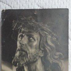 Fotografía antigua: ANTIGUA FOTOGRAFIA.SANTO CRISTO DE LIMPIAS.FOTO HOJAS.AÑOS 20.30?. Lote 245733990