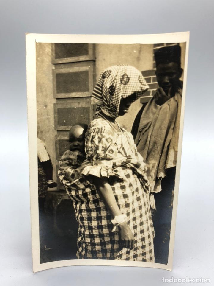Fotografía antigua: Lote de 108 antiguas fotografías Africa cazadores de animales africanos ,elefantes,marfil... - Foto 17 - 247280240