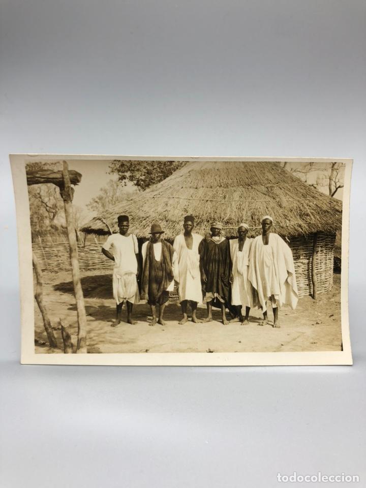 Fotografía antigua: Lote de 108 antiguas fotografías Africa cazadores de animales africanos ,elefantes,marfil... - Foto 33 - 247280240