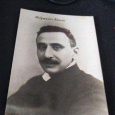 Fotografía antigua: MELQUIADES ALVAREZ FUE UN POLÍTICO Y JURISTA ESPAÑOL ASTURIANO. Lote 247541260