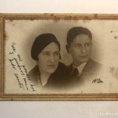 Fotografía antigua: ESPIGA FOTÓGRAFO BILBAO, LOS HERMANOS ZUMALACARREGUI (H.1930?). Lote 254622055