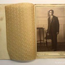 Fotografía antigua: BILBAO, VDA. DE GARCÍA. FOTOGRAFÍA ANTIGUA, EL SEÑOR ANTONIO (H.1940?). Lote 254622540