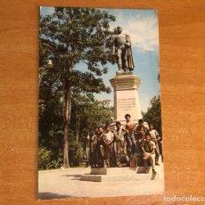Fotografía antigua: COLECCIÓN ANTIGUA POSTAL VENEZUELA, MONUMENTO A JOSÉ ANTONIO ANZOÁTEGUI, BARCELONA - VENEZUELA. Lote 256074315