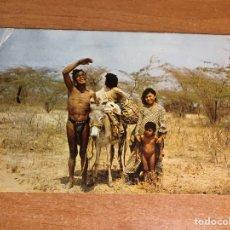 Fotografía antigua: COLECCIÓN ANTIGUA POSTAL VENEZUELA, FAMILIA GOAGIRA, ESTADO ZULIA, VENEZUELA. Lote 256078415
