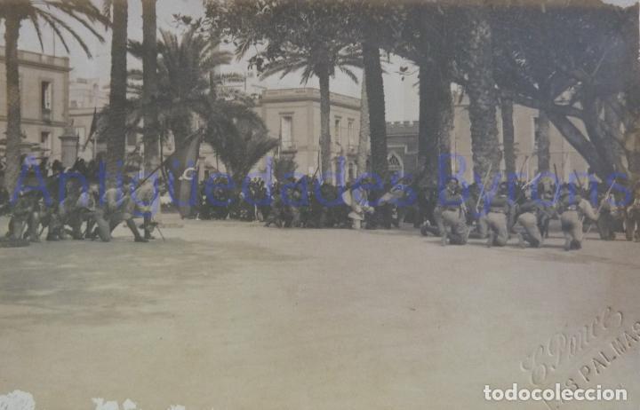 FOTOGRAFÍA. BOY SCOUT. EXPLORADORES. LAS PALMAS DE G.C. AÑO 1915. SELLO FOT. PONCE (13,5 X 8,5 CM) (Fotografía Antigua - Tarjeta Postal)