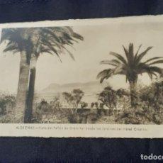 Fotografía antigua: ANTIGUA FOTOPOSTAL DEL HOTEL CRISTINA DE ALGECIRAS CIRCULADA Y CON FRANQUEO. Lote 261307100