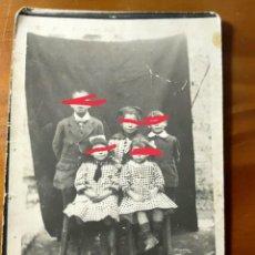 Fotografia antica: ANTIGUA FOTOGRAFÍA POSTAL. NIÑOS.. Lote 262072735
