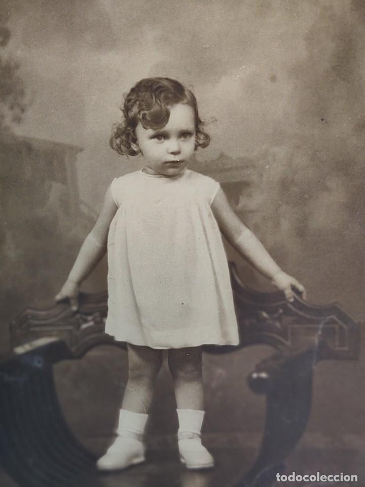 Fotografía antigua: Fotografías Tarjeta Postal Vendrell -Hermanos- sellada en seco - Foto 2 - 262075915