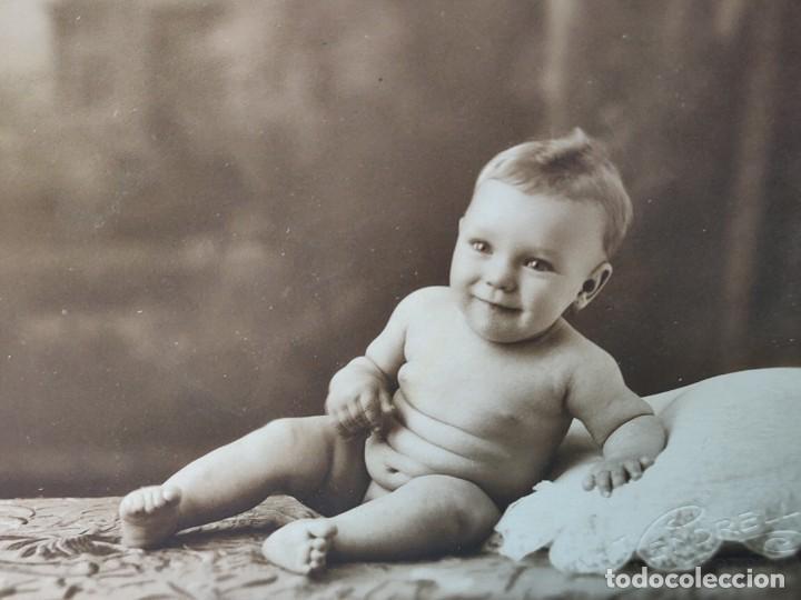 Fotografía antigua: Fotografías Tarjeta Postal Vendrell -Hermanos- sellada en seco - Foto 3 - 262075915