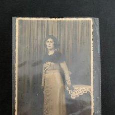 Fotografía antigua: FOTO DE ESTUDIO - TARJETA POSTAL - FOTOGRÁFO DUBOIS (1934). Lote 262435690