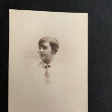 Fotografía antigua: FOTO DE ESTUDIO - TARJETA POSTAL - FOTOGRÁFO NOVOA - SEVILLA MAYO 1927. Lote 262436900