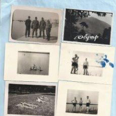 Fotografía antigua: LOTE 8 FOTOGRAFÍAS WEHRMACHT GRECIA GUERRA MUNDIAL MILITAR ALEMANIA NAZI DEUTSCHLAND. Lote 262548325