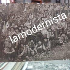 Fotografía antigua: ANTIGUA FOTOGRAFIA TROPA EXPLORADORES DE CARTAGENA MURCIA BOY SCOUT AÑOS 1920. Lote 263106390