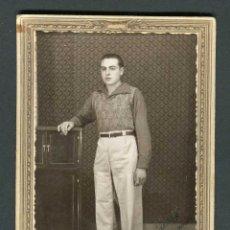 Fotografía antigua: JOVEN. CEUTA. F: CASA RUBIO. 1940. Lote 263172790