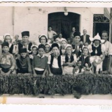 Fotografía antigua: CENTENARIO DE LA BANDA DE MUSICA DE ALCUDIA DE CARLET (25 / 09 / 1944). Lote 263175005