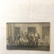 Fotografia antica: FOTO POSTAL. AJEDREZ. AGOSTO 1933. ENCUENTRO CLUB ESCACS SANTA COLOMA VS. ESCACS ORFEÓ BADALONÍ.. Lote 264325224