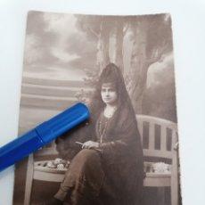Fotografía antigua: SEVILLA. GONZALEZ FOTOGRAFO. FOTO POSTAL ESCRITA 31 ENE. 1920. Lote 264514559