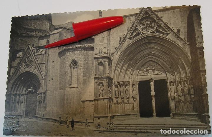 MORELLA ANTIGUA FOTO FOTOGRAFIA POSTAL FOTOGRAFICA CON EL GRABADO FOTO J PASCUAL MORELLA (Fotografía Antigua - Tarjeta Postal)