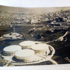 Fotografía antigua: FOTOGRAFÍA DE LOS AÑOS '60 DE LOS DEPÓSITOS DE AGUA DEL CRISTO. OVIEDO.. Lote 268471899