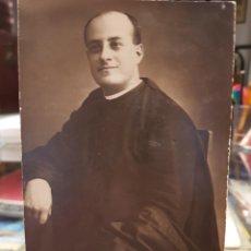 Fotografía antigua: ANTIGUA FOTOGRAFIA RELIGIOSA CURA SACERDOTE PARROCO PACHECO MURCIA 1919. Lote 269108793