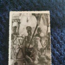 Fotografía antigua: ANTIGUA FOTOGRAFIA TARJETA POSTAL FIESTAS MOROS Y CRISTIANOS VILLENA. Lote 269248918