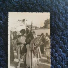 Fotografía antigua: ANTIGUA FOTOGRAFIA TARJETA POSTAL FIESTAS MOROS Y CRISTIANOS VILLENA. Lote 269249678
