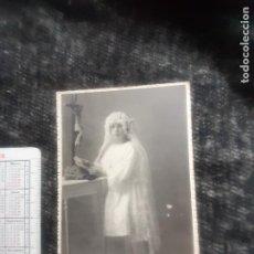 Fotografia antica: A. MURO FOTÓGRAFO. LOGROÑO. PRIMERA COMUNIÓN. Lote 269730128