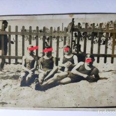 Fotografia antiga: ANTIGUA FOTOGRAFÍA POSTAL. CHICO. CHICOS EN BAÑADOR.. Lote 269837753