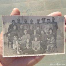Fotografía antigua: ANTIGUA FOTOGRAFIA POSTAL DE GUARDIAS CIVILES CON SUS FAMILIAS PRINCIPIOS DE SIGLO XX. Lote 274019288