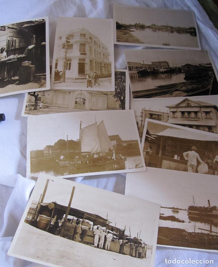10 ANTIGUAS FOTOGRAFIAS DE BARRANQUILLA, COLOMBIA. EDICION LIBRERÍA CERVANTES BARRANQUILLA. 9X14 CM (Fotografía Antigua - Tarjeta Postal)