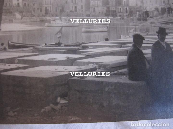 Fotografía antigua: 2 ANTIGUAS FOTOGRAFIAS DEL PORT DE SÓLLER, MALLORCA. 9 X 15 CM - Foto 3 - 275111843