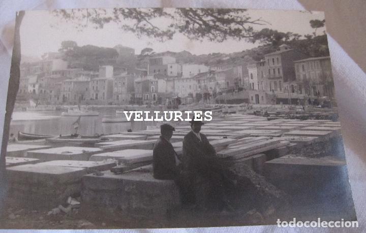 Fotografía antigua: 2 ANTIGUAS FOTOGRAFIAS DEL PORT DE SÓLLER, MALLORCA. 9 X 15 CM - Foto 4 - 275111843