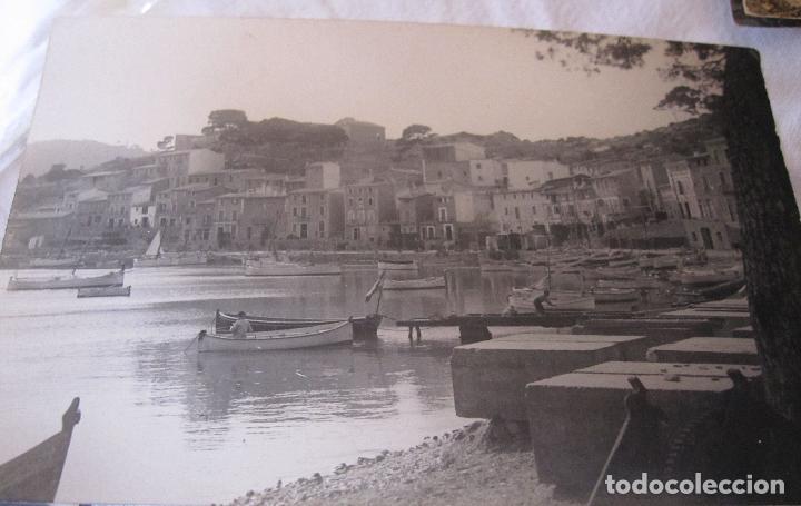 Fotografía antigua: 2 ANTIGUAS FOTOGRAFIAS DEL PORT DE SÓLLER, MALLORCA. 9 X 15 CM - Foto 6 - 275111843