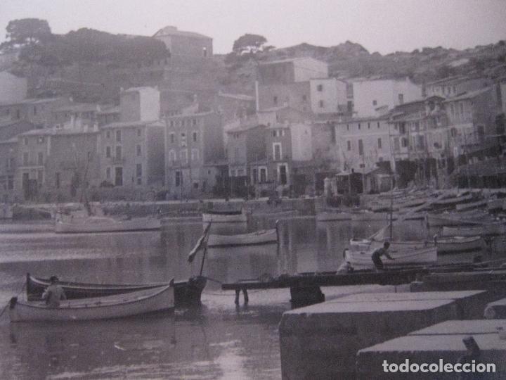 Fotografía antigua: 2 ANTIGUAS FOTOGRAFIAS DEL PORT DE SÓLLER, MALLORCA. 9 X 15 CM - Foto 7 - 275111843