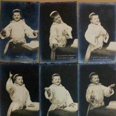 Fotografía antigua: LOTE 8 SIMPÁTICAS POSTALES FOTOGRÁFICAS. PAPEL FOTOGRÁFICO ORIGINAL. CIRCULADAS AUSTRIA 1902. SELLOS. Lote 275339833
