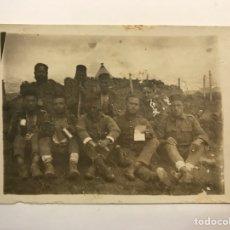 Fotografia antica: MILITAR FOTOGRAFÍA. GUERRA DE AFRICA. SOLDADOS, UNIDAD DE ARTILLERÍA …, (H.1920?) DESLUCIDA…. Lote 275975743