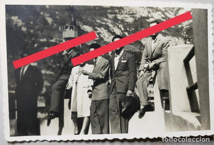 ANTIGUA FOTOGRAFÍA POSTAL DE MONTSERRAT. BARCELONA. FOTÓGRAFO MARCO. VALENCIA. AÑOS 40. (Fotografía Antigua - Tarjeta Postal)