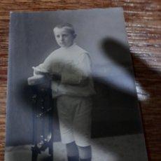 Fotografía antigua: NIÑO DE COMUNIÓN NOVELLA. Lote 278634758