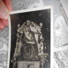 Fotografía antigua: ANTIGUA FOTOGRAFIA.VIRGEN O SANTA SIN IDENTIFICAR.AÑOS 20.30. Lote 278870948
