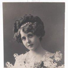 Fotografía antigua: TARJETA POSTAL - FOTOGRAFIA JOVEN 1924 - 13,5 CM X 8,5 CM. Lote 278973943