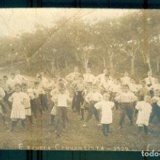 Fotografía antigua: NUMULITE PB071 NUMULITE PB071 FOTOGRAFÍA ANTIGUA ESCUELA CERVANTISTA 1912 ? 1922 ? COLEGIO NIÑOS GIM. Lote 286961288