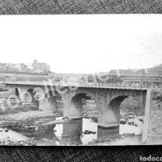Fotografía antigua: BALSARENY BAGES VISTA DEL POBLE LLOBREGAT I EL CASTELL CIRCULADA 1912. Lote 288177643