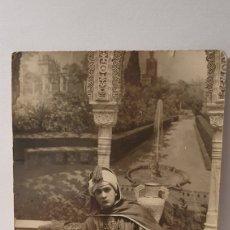 Fotografía antigua: TARJETA POSTAL AÑO 1927/ ORIGINAL DE ÉPOCA/ DEDICATORIA. Lote 288230238